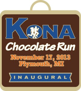 Kona Chocolate Run MEDAL 13