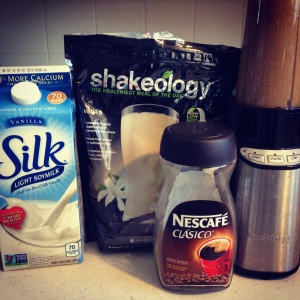 Shakeology as a Frappuccino!